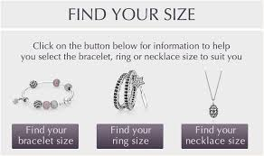 Womens Ring Size Chart Pandora Pandora Bracelet Average Size