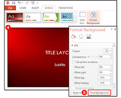Powerpoint Background Tips How To Customize The Images