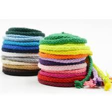 ZERZEEMOOY 5mm Diy accessories twisted round 100% <b>cotton</b> ...