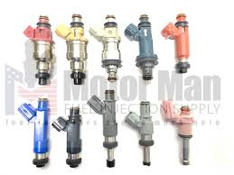 Denso Fuel Injector Identification Chart