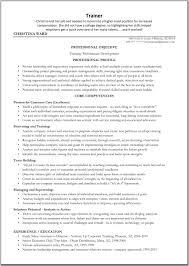 Sales Trainer Resume Sample contract trainer resume Akbakatadhinco 1