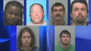 Six arrested on various drug charges in Beaufort County   WCTI