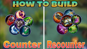 League Of Legends Counters Chart How To Build Mechanics Counter Build Recounter Build Well Explained Mobile Legends