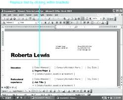 resume wizard word a sample created by the wizard resume wizard word 2007  download