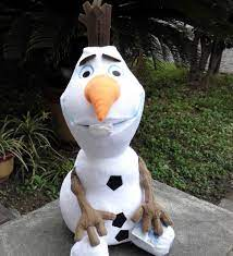 Brand New 30/50 cm Kích Thước Lớn Olaf Búp Bê Movie và TV thú nhồi bông Mềm  Nhồi Bông Đồ Chơi Snowman Olaf Đồ Chơi Trẻ Em Birthday quà tặng birthday  gift