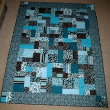 yellow brick road quilt - blue w/extra squares in border | Quilts ... & yellow brick road quilt - blue w/extra squares in border Adamdwight.com