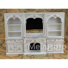 dollhouse miniature furniture. Wholesale Dollhouse Miniature Furniture 1/12 Scale Luxury White Hand Painted Fireplace And Wall Accessories Discount Doll Families For Dollhouses U