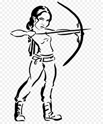 katniss everdeen coloring book drawing the hunger games video game the hunger games