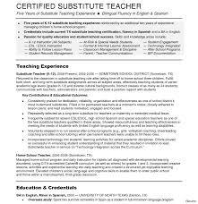 Sample Resume For Teachers Job Executive Sales Samples Preschool