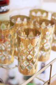 vintage culver glassware