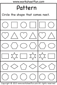 Amazing Pattern For Kindergarten Worksheets Pictures Inspiration ...