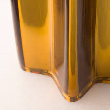 Golden Glass Table Lamp