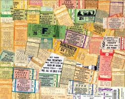 Background Concert Ticket Stubs Free Stock Photo Public Domain