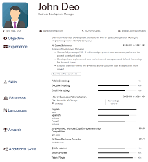 Creating A Free Resume Create Resume For Free In 3 Steps With Premium Resume Templates 2019