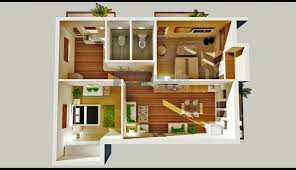 one bedroom apartment plans and designs model