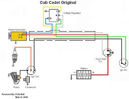 wiring diagrams nf only cub cadets Cub Cadet 107 Wiring Diagram original w battery ignition cub cadet 107 wiring diagram