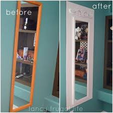 door mirror oh this is a great idea to make that plain old full length