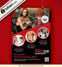 Download Fitness And Gym Flyer Psd Free - Indiater