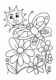Coloring Page Spring Incredible Colouring Pages For Kids Pertaining