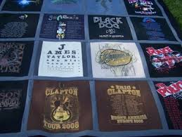 Sue's quilting with love - Home & This is a Tee Shirt Quilt made from tee shirts that you provide, and made  to your custom specifications. A special gift for your teenager - favorite  bands, ... Adamdwight.com