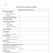 Course Proposal Template Course Outline Template Sample For Book Review New Model