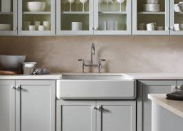 white apron front sink. Perfect Apron The Kohler Whitehaven Apronfront Singlebasin Sink Is Made Of Enameled  Cast Iron Has A Selftrimming Apron And Easy To Install Click Each Enlarge  And White Apron Front Sink E