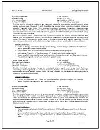 Social Work Resumes Awesome Social Work Resume Template Delectable Gallery Of Social Worker R