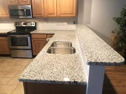 photo of project profile bella white granite countertop in rossville ga