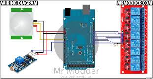 how to make home automation using arduino uno mega mrmodder com Arduino Stepper Motor Wiring Diagram at Create Arduino Mega Wiring Diagram