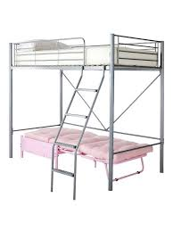 Kidspace Bedroom Furniture Kidspace Montana High Sleeper With Futon Single Bed Pink Almost