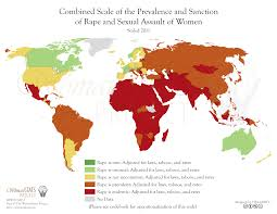 Rigid Muslim socieites have the highest rape scales in the world.