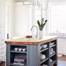 curved island countertop