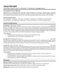 Brilliant Ideas of Civil Engineer Resume Sample With Summary