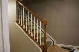 Staircase Railing Ideas simple basement stair railing ideas stair railing ideas 6704 by xevi.us