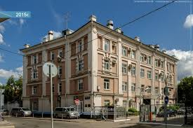Москва Курсовой переулок дом офисное здание район Хамовники Курсовой переулок дом 9 офисное здание