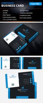 Free Business Cards Psd Templates Business Card Design Psd Free