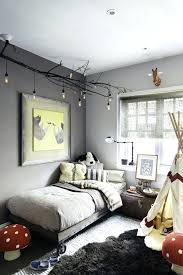 uncategorized dark gray walls bedroom winning light with brown furniture grey white cabinets accent wall