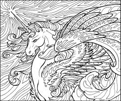 Unicorn Coloring Pages - Free Printable Coloring Pages