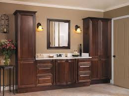 image of bathroom linen cabinets tall