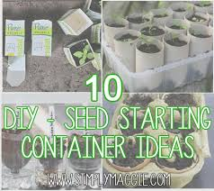 10 diy seed starting container ideas