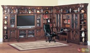 home office library furniture. Parker House Wall Unit Entertainment Center Furniture Barcelona 12 Pc Library TV Home Office