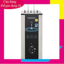 Máy lọc nước Sunhouse 10 lõi, máy lọc nước RO nóng lạnh SHR76210CK