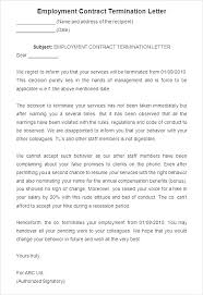 Termination Of Employment Letter Template New Separation Notice