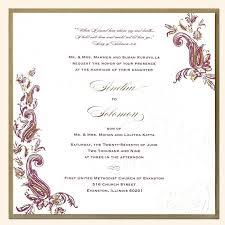 Wedding Invitation Templates Indian Lukegraham Invitation Ideas
