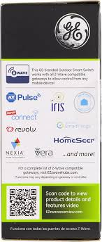ge 45604 wave. GE ZWave Wireless Smart Lighting Control Outdoor Module OnOff PlugIn Black Works With Amazon Alexa 12720 Plug In Dimmer Switches Amazoncom Ge 45604 Wave