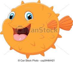 cute puffer fish clip art. Exellent Fish Cute Puffer Fish Cartoon  Csp34464421 Inside Puffer Fish Clip Art B