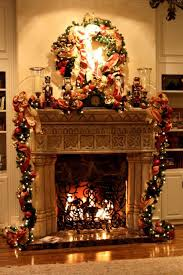 Cool Christmas Fireplace Decorating Ideas 36 In Interior Design Ideas with Christmas  Fireplace Decorating Ideas