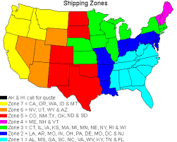 Fedex Zone Chart Shipping Rates