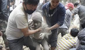 زلزال يضرب نيبال ومقتل اكثر من 1341 شخصا