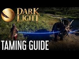 Dark And Light Taming Chart Dark And Light Taming Guide Youtube